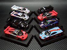 マクラーレン F1 GTR レーシング ミニカー コレクション