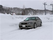 雪に閉ざされた映画村