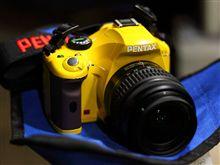 黄色いPENTAX
