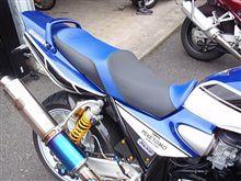 """XJR1300""""New custom-seat""""fast impressionです。"""