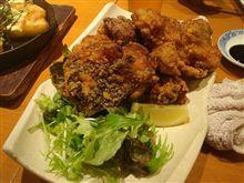 ボリューム満点の鶏唐