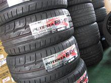 タイヤ交換...年数が経てば..減って無くても..BS RE11 215/45R17.アルファロメオ156JTS