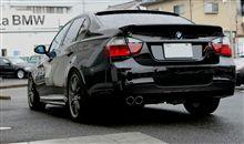 BMW 「アルピナの羽根」 くっ付きました!