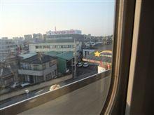 新幹線からの・・・
