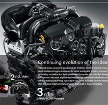 【技術】第三世代ボクサーエンジン