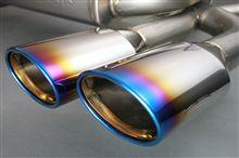 LEXUS RX450h オールチタニウム製4本出しマフラー ガナドールから!