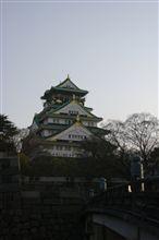 大阪城に・・・