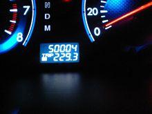 祝50000km