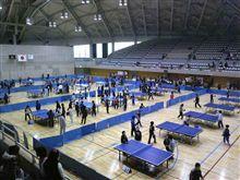 卓球大会でぇす