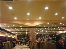 world buffet で夕食