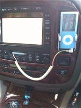 SoundShakitとipodの接続