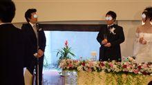 同僚の結婚式に♪