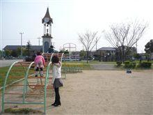 公園で遊んだ♪