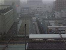 めっちゃ雪降ってるし(汗)