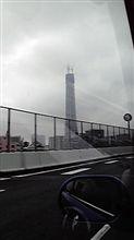 東京スカイツリー338mに・・・極太アース高速走行インプレッション