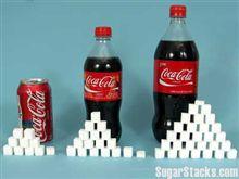 コーラと砂糖