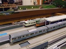 息子と鉄道模型・・・