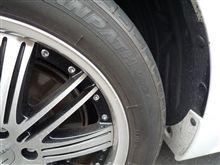 タイヤのひび割れ