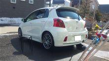 洗車&タイヤ交換