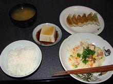 餃子~(今日の料理:h22.4.9夜)