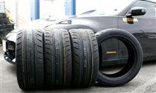 NITTO NT05装着:初の新品タイヤ