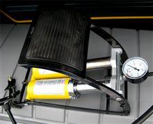 BAL(大橋産業) 高圧フットポンプ ツインシリンダー