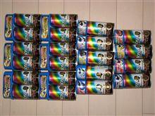 コンビニで缶コーヒー21本大人買い(栄光のレーシングカーコレクション)