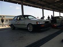 初レース。。