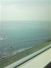 久しぶりに海...