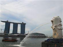 シンガポール観光 マーライオンとカジノ