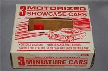 旧バンダイ、ミニミニカー、3台セット(3MINIATURE CARS)