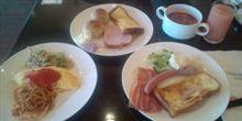 ラストデー 朝食