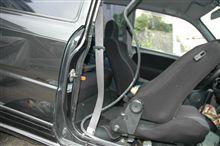 シートベルト修理しました
