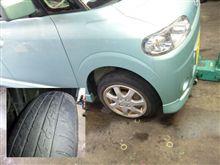タイヤの空気圧って重要