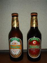 ラオスのビールをもらった