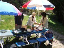 中高年のアウトドア料理はBBQより山菜天ぷらをお勧めします