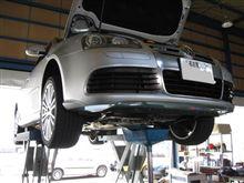メンテナンスは大事....VW ゴルフⅤ R32..MOTUL エンジンオイル交換