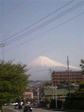天気良く富士山が綺麗ですよ~(#^-^#)