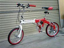 自転車を買いました。