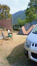 デリカで初キャンプ