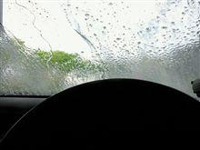 スカイライン洗車