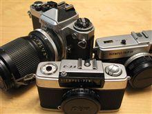 銀塩カメラ、、、久しぶりにひっぱり出す・・・