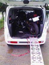バイク積載用ラダーレール購入!モビリオスパイク トランポ化???