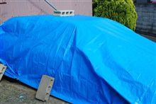 ボディーカバーはやっぱりブルーシート2