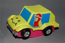 ホンコン製プラ玩具 チキチキマシン猛レース プシーキャット、