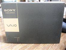ニューマシン!! SONY VAIO Fシリーズ VPCF118FJ/W