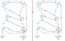 バトルジムカーナ2010Rd.1のコース図