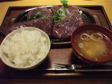 夕飯・・・