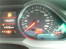 ガソリン残量とワーニングの関係