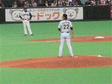 今日は藤川球児に最後を決められました!!